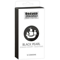 Prezerwatywy Secura Black Pearl 12 szt., Kolor: Black