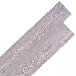 vidaXL Samoprzylepne panele podłogowe, 36 szt., PVC, ciemnoszare Darmowa wysyłka i zwroty