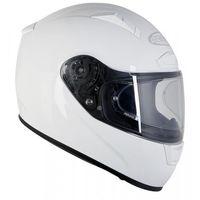 Kaski motocyklowe, OZONE RC-01 PINLOCK READY WHITE Kask integralny
