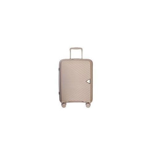 Torby i walizki, PUCCINI walizka mała/ kabinowa twarda z kolekcji DENVER PP014 4 koła zamek szyfrowy TSA materiał polipropylen