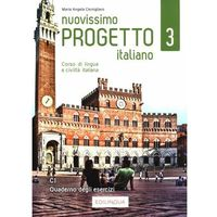 Książki do nauki języka, Nuovissimo progetto italiano 3 quaderno degli esercizi c1 - cernigliaro maria angela (opr. miękka)