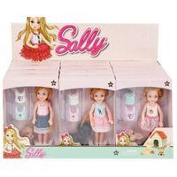 Lalki dla dzieci, Lalka 14cm Sally z akcesoriami