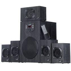 Głośniki Genius SW-HF 4500, 5.1, Verze II. (31730015400) Czarne