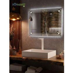 Lustro z oświetleniem ledowym do łazienki: ALISA-14