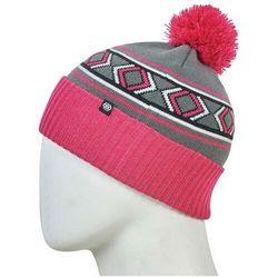 czapka zimowa 686 - Chalet Pom Beanie Lilac Rose (LLAC)