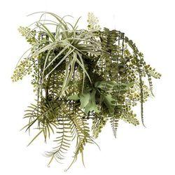 Emerald Sztuczna paproć i oplątwa na żelaznym stojaku, 420223 Darmowa wysyłka i zwroty
