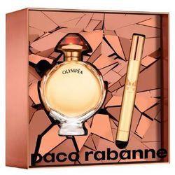 Paco Rabanne Olympea Intense, Zestaw podarunkowy, woda perfumowana 50ml + woda perfumowana 10ml (Travel set)