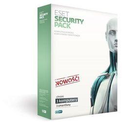 ESET Security Pack 3 stanowiska PC + 3 Smartfony na 3 lata BOX (ESP-N-3Y-3D) Darmowy odbiór w 21 miastach!