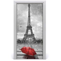 Fototapeta samoprzylepna na drzwi Wieża Eiffla