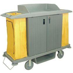 Wózek do sprzątania z drzwiczkami | 1540x540x(H)1285mm