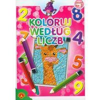 Książki dla dzieci, Koloruj według liczb zeszyt 2 - Praca zbiorowa - Dostawa Gratis, szczegóły zobacz w sklepie (opr. broszurowa)