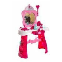 Toaletki dla dziewczynek, Toaletka różowa ze światłami i z lustrem #E1
