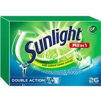 Pozostałe do mycia naczyń, Unilever SUNLIGHT Tabletki do zmywarki (667961) Darmowy odbiór w 20 miastach!