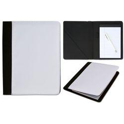 Notes czarny MEMO średni 14,8x23 cm z okładką do nadruku