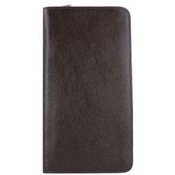 Fossil Multi Zip Etui na paszport skórzana 13 cm dark brown ZAPISZ SIĘ DO NASZEGO NEWSLETTERA, A OTRZYMASZ VOUCHER Z 15% ZNIŻKĄ