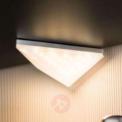 Lampa meblowa Paulmann Kite 92031, LED wbudowany na stałe x 1;6.2 W, 230 V, IP44, (DxSxW) 13.8 x 14.9 x 5.7 cm, aluminiowy (szczotkowany)
