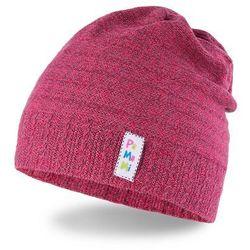 Wiosenna czapka dziewczęca typu smerfetka PaMaMi - Czerwony - Czerwony