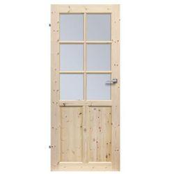 Skrzydło drzwiowe drewniane LONDYN LUX 80 Lewe RADEX