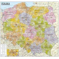 Polska mapa administracyjno-samochodowa 1:570 000 Tuba