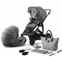 Wózek wielofunkcyjny 2w1 Kinderkraft Prime - Grey