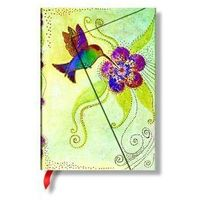 Notesy, Notatnik Laurel Burch Whimsical Creations Hummingbird Mid Lined