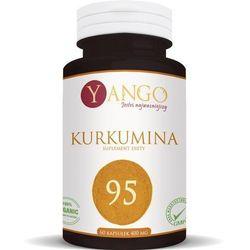 Kurkumina95 - 60 kapsułek (ekstrakt + piperyna) Yango