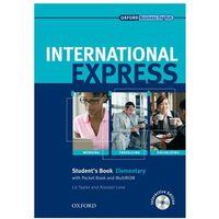 Książki do nauki języka, International Express Elementary SB CD grat OXFORD podręcznik (opr. broszurowa)