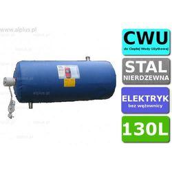 Bojler elektryczny nierdzewny CHEŁCHOWSKI 130L Poziomy, z grzałką 2kW lub inną do wyboru, 130 litrów, bez wężownicy, Wysyłka gratis