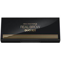 Max Factor Real Brow Duo zestawy i palety do brwi 3,3 g dla kobiet 002 Medium