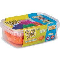 Pozostałe artykuły plastyczne, Super Sand, pomarańczowy