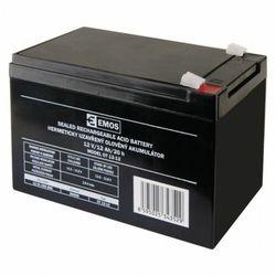 Akumulator ołowiowy AGM 12V 12Ah F6,3 B9656