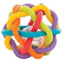 Grzechotki i gryzaki, PLAYGRO Grzechotka Piłeczka Bendy Ball 40133