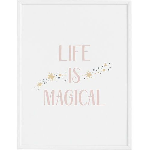 Plakaty, Plakat Life is Magical 40 x 50 cm