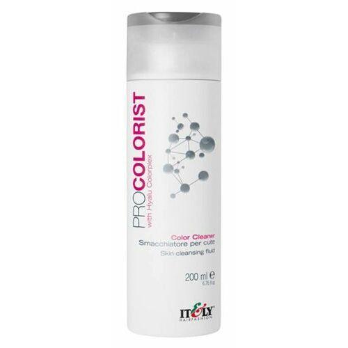 Inne kosmetyki do włosów, Itely Hairfashion PROCOLORIST COLOR CLEANER Fluid do zmywania plam farby ze skóry z kompleksem Hayalu Colorplex