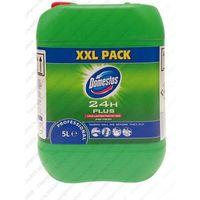 Płyny i żele do czyszczenia armatury, Płyn czyszcząco-dezynfekujący Domestos 24H Plus Pine Fresh 5 l