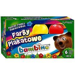 Farby plakatowe Bambino 6 kolorów 20ml