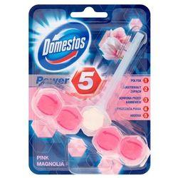 Domestos Pink Magnolia Kostka WC Power 5 koszyk 55 g