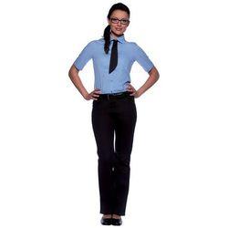 Bluzka damska z krótkim rękawem, rozmiar 36, jasnoniebieska | KARLOWSKY, Juli