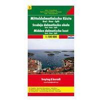 Mapy i atlasy turystyczne, Střední Dalmácie Brač Hvar Split 1: 100 000