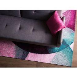 Dywan różowo-zielony 160 x 230 cm krótkowłosy EDESA
