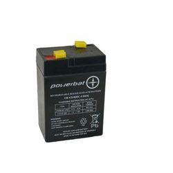 Akumulator żelowy POWERBAT CB 4,5-6 6V 4,5Ah