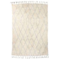 HKliving Wełniany dywan berberyjski jasnoniebieski (180x280) TTK3041