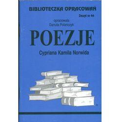 Poezje Cypriana Kamila Norwida Zeszyt 44 (opr. miękka)