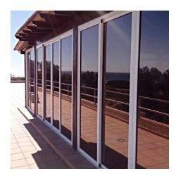 Folia okienna LUSTRO WENECKIE brązowa M10 (silver/brown) szer.1,52 m