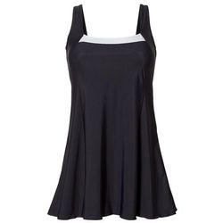 Sukienka kąpielowa shape bonprix czarno-biały