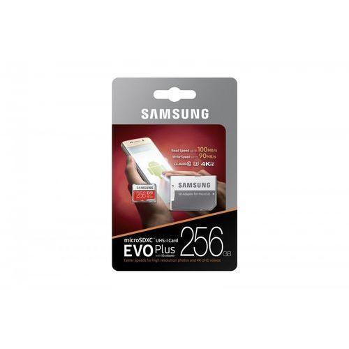 Karty pamięci, Samsung EVO Plus MB-MC256D 256GB MicroSDXC UHS-I Klasa 10 pamięć flash