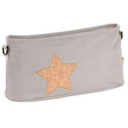Organizer do Wózka Casual Label Laessig - Cork Star light grey 1107002209