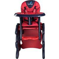 Krzesełka do karmienia, Krzesło do karmienia CARETERO ze stoliczkiem Primus czerwony + DARMOWY TRANSPORT!