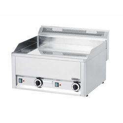 Płyta grillowa elektryczna gładka nastawna | 650x480mm | 6000W