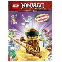 Kolorowanki, Lego ninjago kolorowanka z naklejkami na-6703